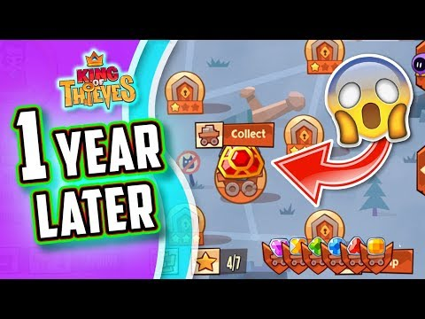 OPENING THIS GAME AFTER 1 YEAR   KING OF THIEVES [Zeptolab]