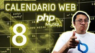 Calendario web con PHP, MySQL utilizando fullcalendar (Video 8  - Base de datos Mysql)