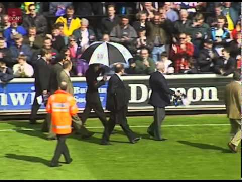 Michael Jackson At Fulham Football Ground