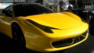 DUBSandTIRES.com Ferrari on Donz Forged custom concave wheels Staggered set up MP4