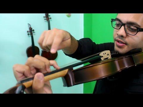 POSTURA DA MÃO ESQUERDA NO VIOLINO | Aulas de Violino Online | INTRODUÇÃO #8