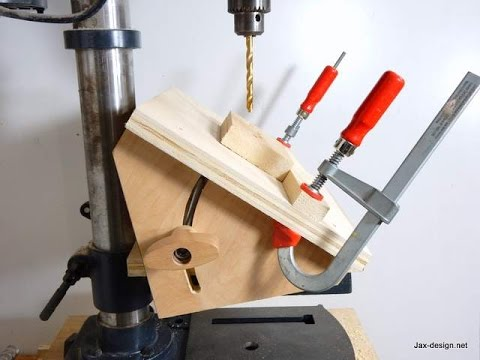 Build an Adjustable Angle Drilling Jig And Never Drill a Bad Hole Again