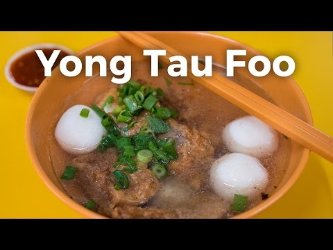 Yong Tau Foo - Tofu and Fish Balls in Singapore (永祥兴豆腐)
