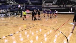lake ridge high school varsity volleyball lady eagles vs el paso franklin cougars