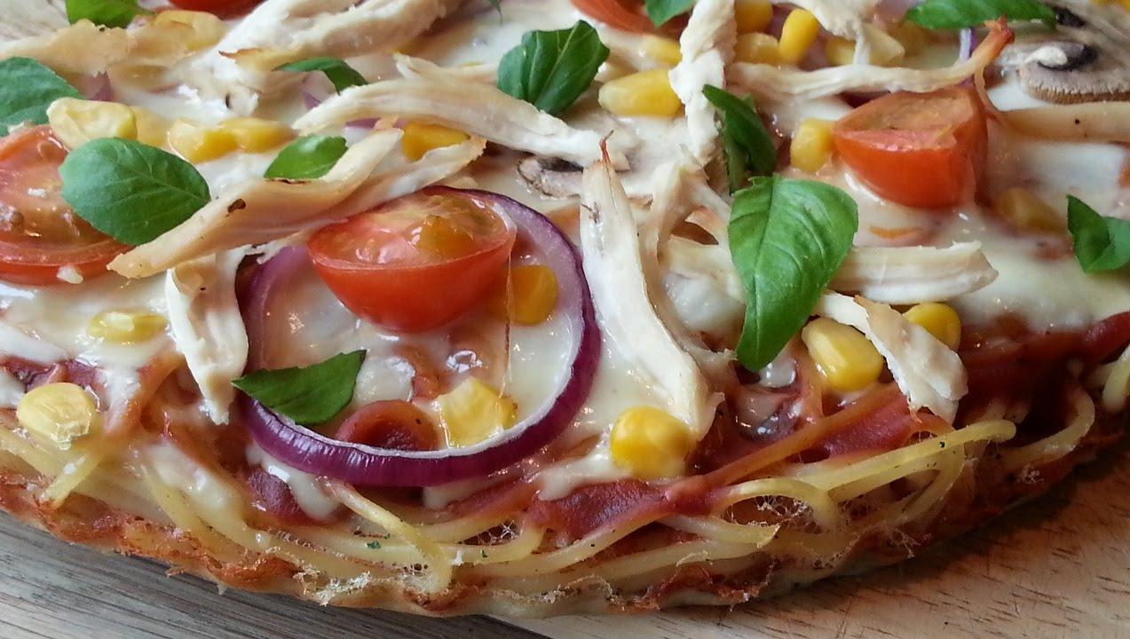 Slimming Recipes Spaghetti Pizza