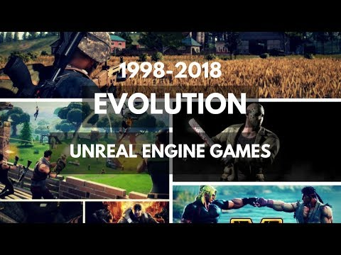Evolution of Unreal Engine Games 1998-2018 (UE 1 to 4)