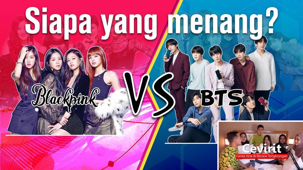 "BLACKPINK VS BTS, SIAPA YANG MENANG? Reaksi Non K-POPer nonton MV ""How You Like That"" vs ""Stay Gold"""
