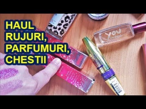Haul Rujuri Parfumuri Chestii Youtube
