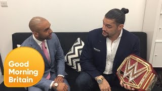 Roman Reigns Is Considering Following in the Rock's Hollywood Footsteps | Good Morning Britain