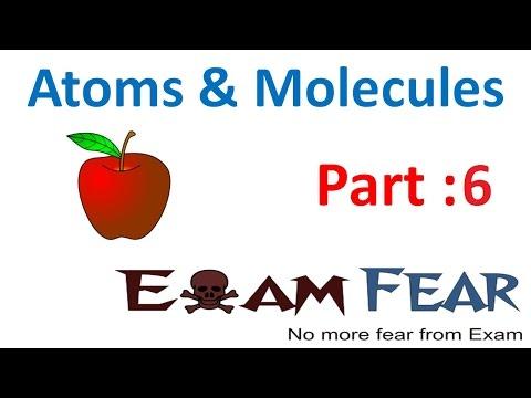 Chemistry Atoms & Molecules part 6 (Atomic Mass) CBSE class 9 IX