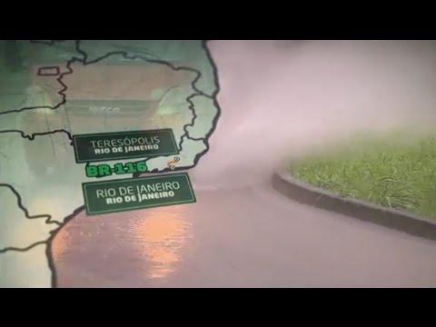 Motoristas redobram a atenção nas estradas que dão acesso à região serrana do Rio