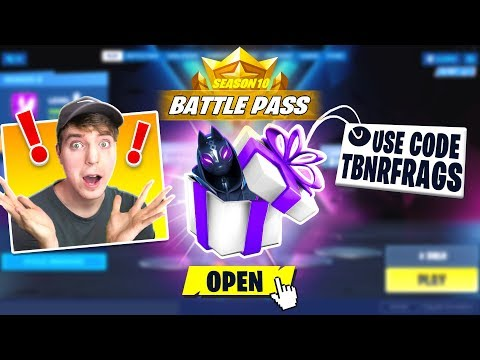 GIFTING The Fortnite SEASON X BATTLE PASS To YouTubers!