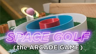Space Golf the 3D Printed Arcade Game