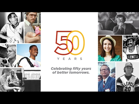 Valencia College - Fifty Years of Better Tomorrows #Valencia50th