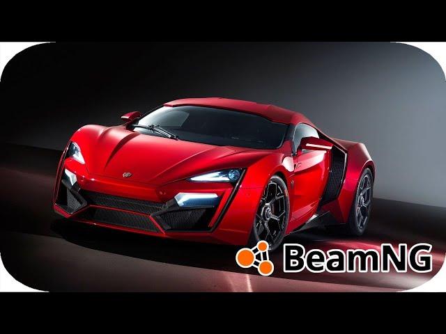 BEAMNG DRIVE Lykan HyperSport 2014