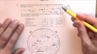 Matematik 2c - Lösning av det nationella provet vt 2015 del D