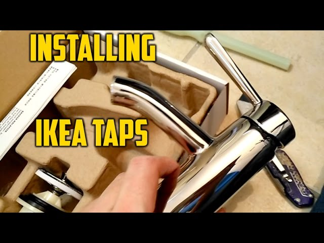 installing ikea faucets youtube