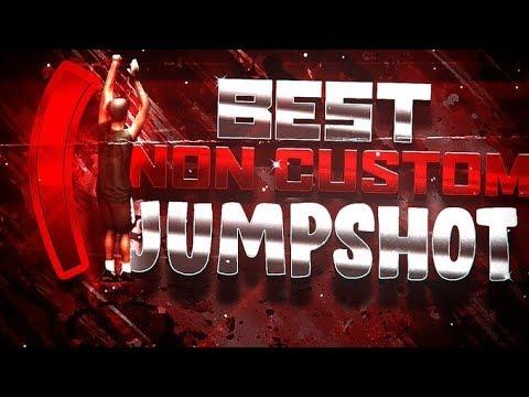 BEST NON CUSTOM JUMPSHOT FOR NBA 2K20