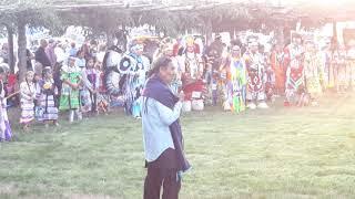 TAOS PUEBLO POW WOW 2019 DAY 1  - Friday Morning  - Leonard Archuleta - Taos Pueblo Lt. War Chief