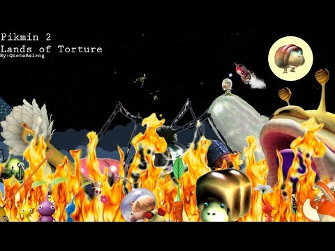 Pikmin 2 - Lands of Torture Live Stream! part 1 (of 2) (Commentary)
