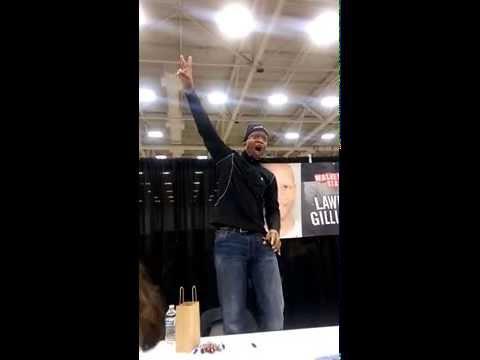31415 Walker Stalker Con Dallas  Lawrence Gilliard Jr aka Bob Yells TAINTED MEAT