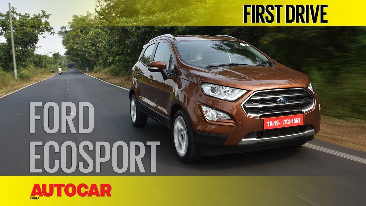 Ford Ecosport Diesel Petrol Automatic First Drive Review Autocar India