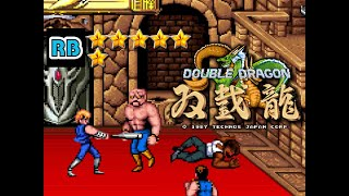 1987 [60fps] Double Dragon NoElbow Nomiss ALL