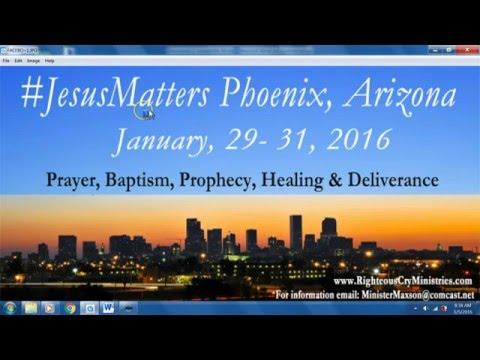 Information On The #JesusMatters Mission Trip To Phoenix Arizona