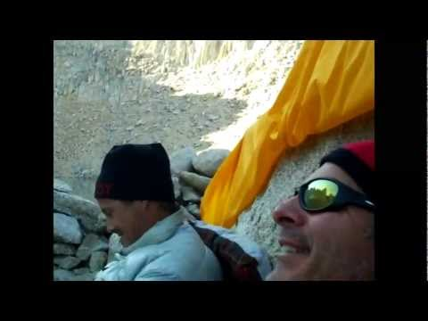 A climb up the east face of Mt. Whitney with Bill Travers