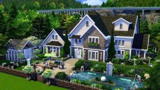 The Sims 4 || Speed Build || Cherry Tree Lane