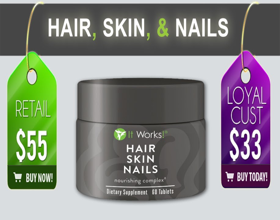 It Works Hair Skin and Nails True Story. - YouTube