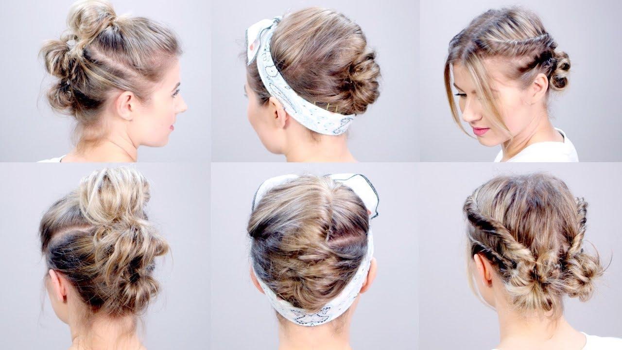 super easy short hairstyles tutorial | milabu