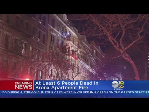 At Least 6 Dead In Bronx Fire