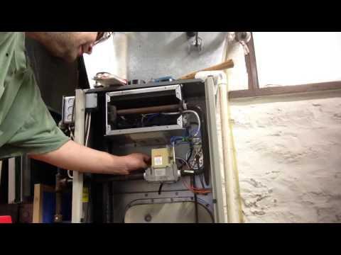 How to change a Honeywell smart valve gas valve Tempstar furnace