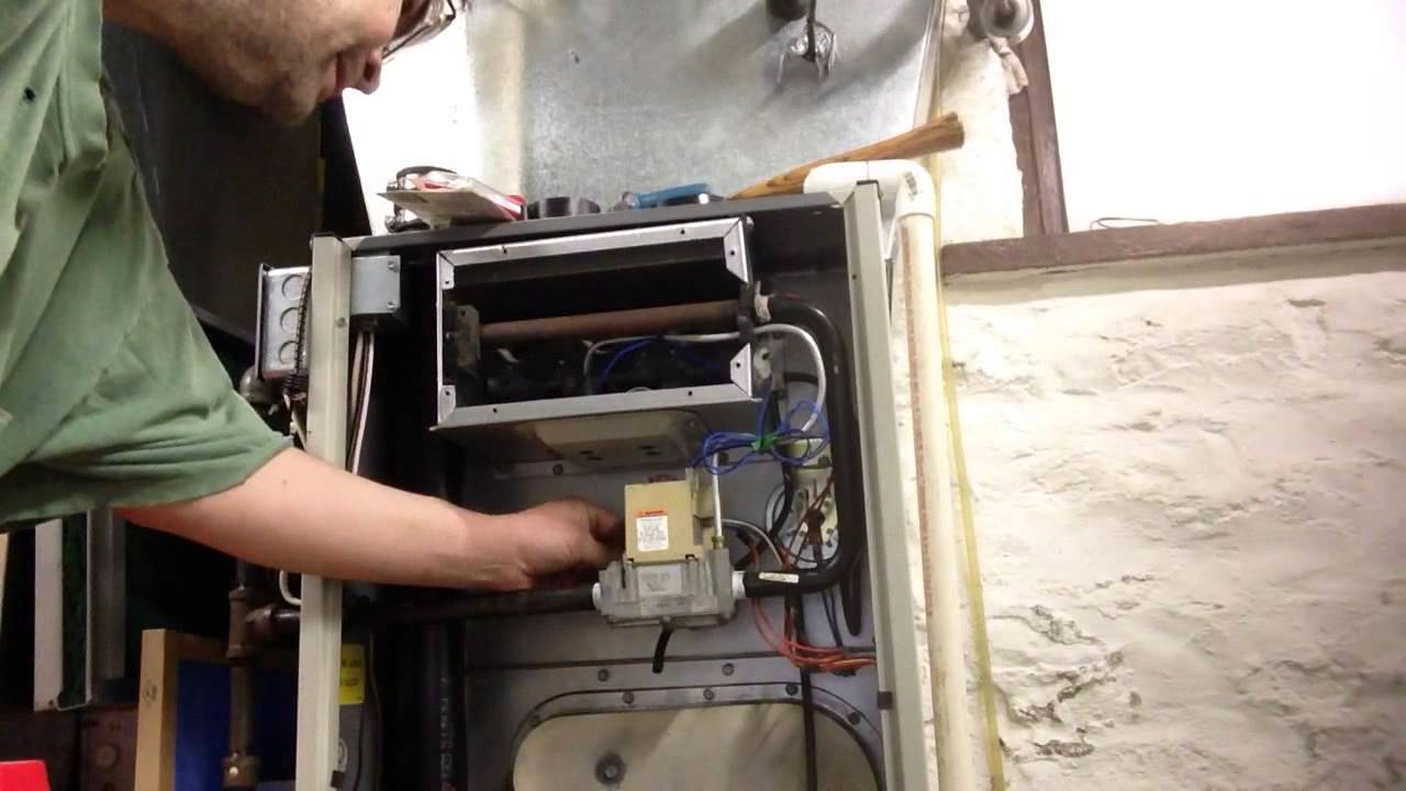 How To Change A Honeywell Smart Valve Gas Valve Tempstar Furnace