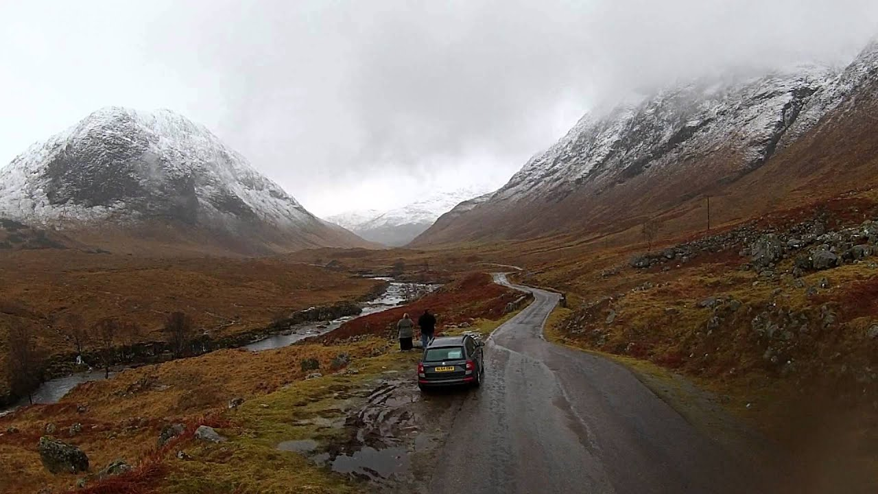 Glen Etive Skyfall Location - YouTube