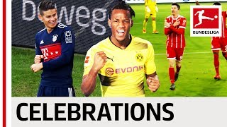 James, batshuayi, lewandowski & co. - best goal celebrations 2017/18