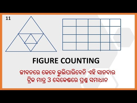 REASONING TRICK ODIA || FIGURE COUNTING TRICK ODIA || ODIA REASONING LIVE CLASS