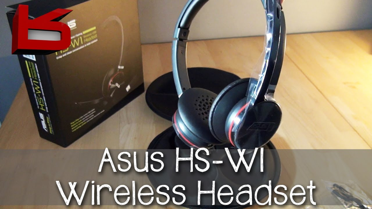 DRIVER UPDATE: ASUS WIRELESS HEADSET HS-W1