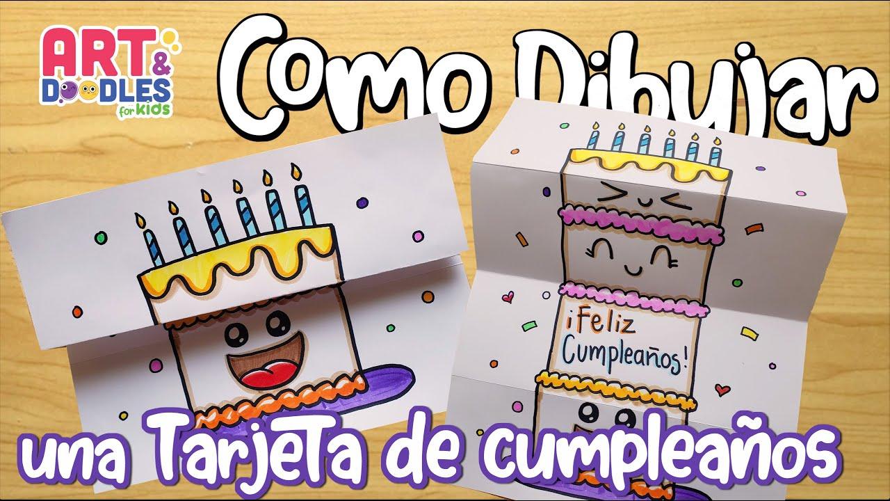 Cómo hacer una tarjeta de cumpleaños sorpresa.