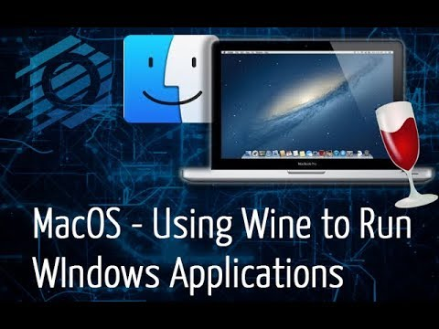 MacOS - Using Wine & WineBottler To Run Windows Applications (EASY)