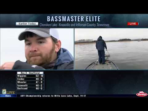 Bassmaster Live: 2017 Cherokee Lake Saturday, part 2
