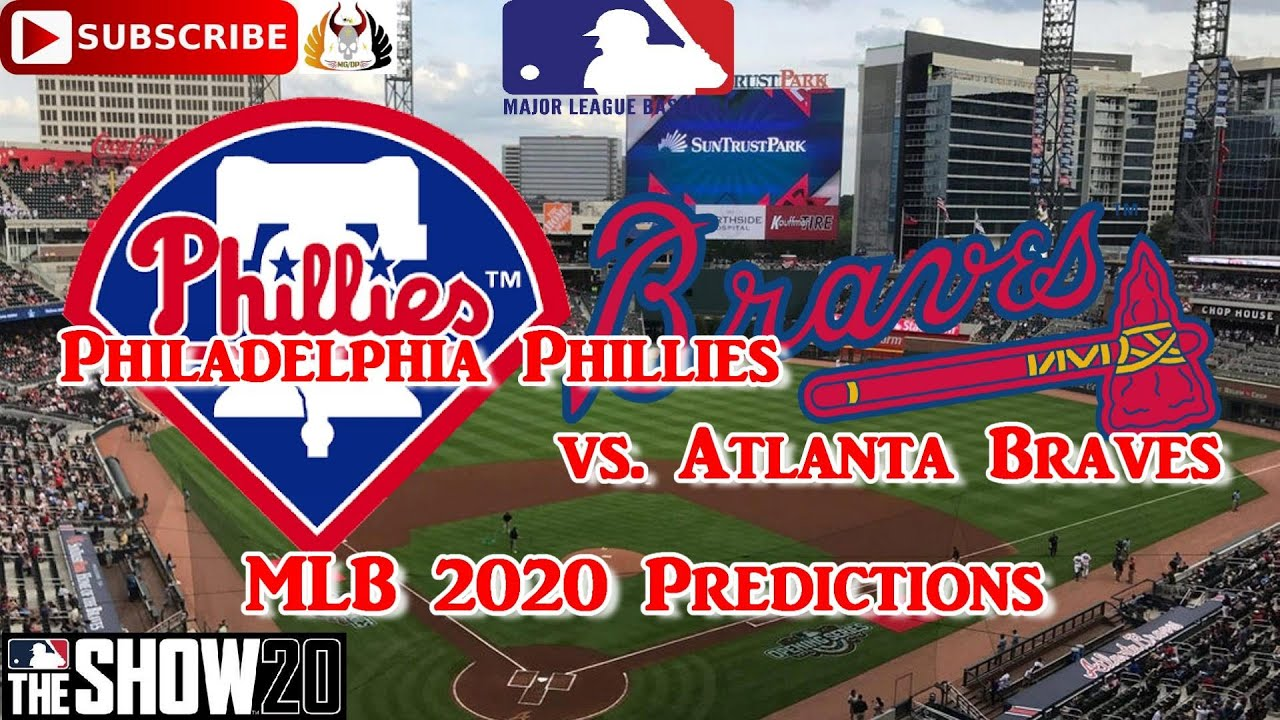 Philadelphia Phillies Vs Atlanta Braves 2020 Mlb Season Predictions Mlb The Show 20 Youtube