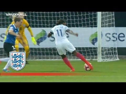 Dan Carter's backtoback hattricks for England v Estonia  Goals & Highlights