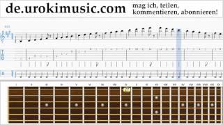 Gitarrenunterricht Mo-Torres, Cat Ballou & Lukas Podolski - Liebe deine Stadt Noten Lernen Teil#1