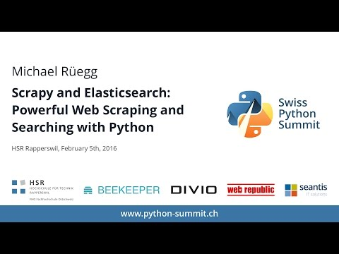 Michael Rüegg – Powerful Web Scraping and Searching with Python – SPS16
