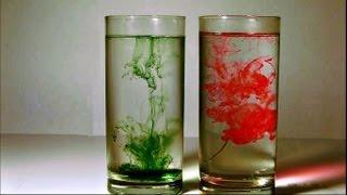 Diffusion: Water & Food Dye - Diffusion Project