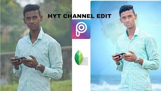 Professional photo editing in easy trick   New Stylish Editing Tricks  picsart Snapseed photo edit