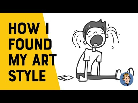 How I got My Art Style [Animated Story]
