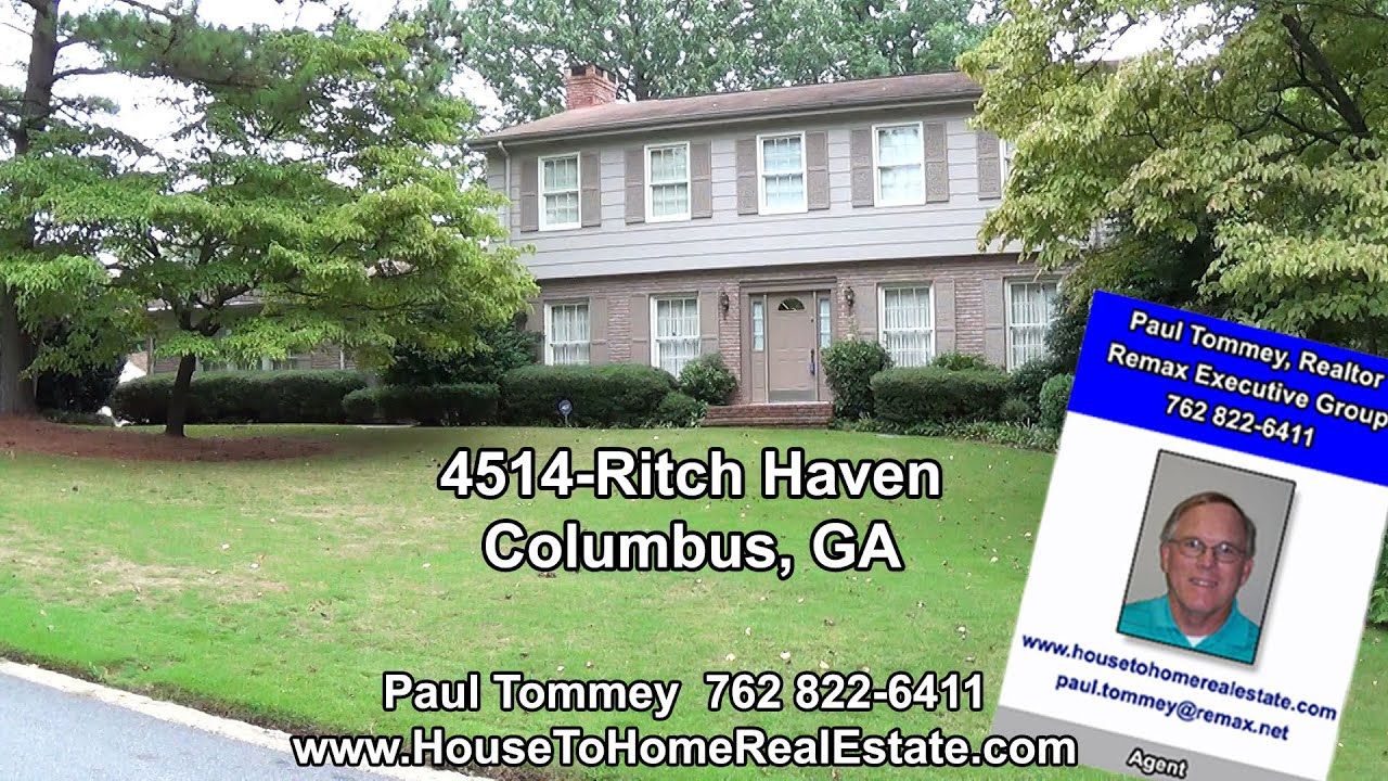 Homes for sale 4514 ritch haven rd columbus ga youtube for Home builders columbus ga